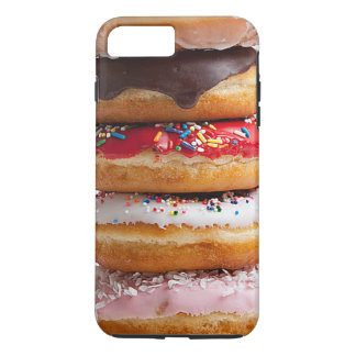 Colorful Assorted Sprinkles Chocolate Sweet Donuts iPhone 7 Plus Case