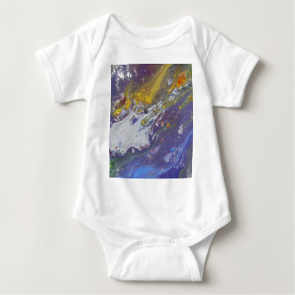 Colorful Asteroid Baby Bodysuit