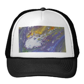 Colorful Asteroid Trucker Hat