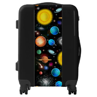 Colorful Astronomy Space Carry On Luggage