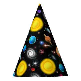 Colorful Astronomy Space Party Hat