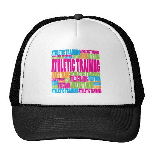 Colorful Athletic Training Trucker Hats