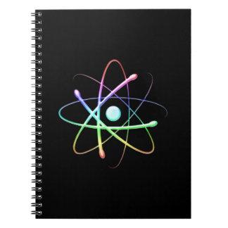 Colorful Atom | Geek Gifts Notebook