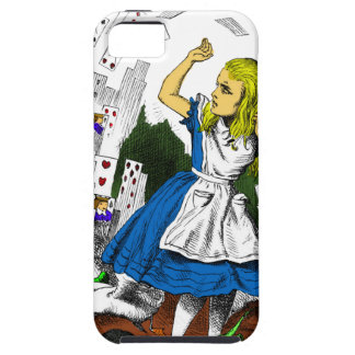 Colorful Attack of the Cards Alice in Wonderland iPhone 5 Case