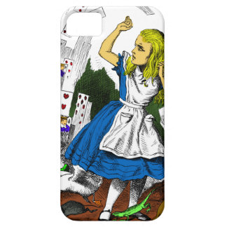 Colorful Attack of the Cards Alice in Wonderland iPhone 5 Covers