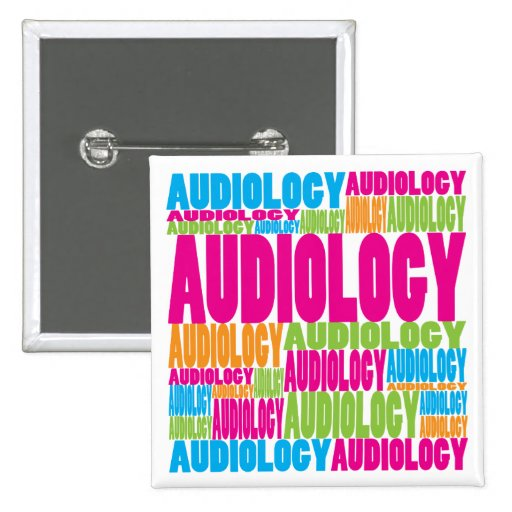 Colorful Audiology Buttons