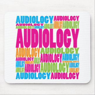 Colorful Audiology Mouse Pad