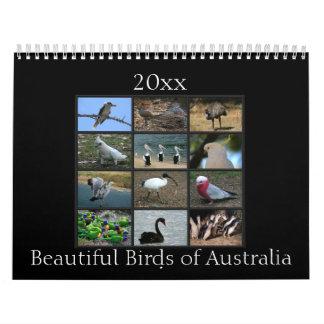 Colorful Australian Birds Calendar
