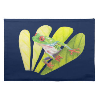 Colorful Australian Tree Frog Placemat