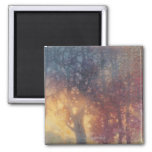 Colorful Autumn 2 Inch Square Magnet