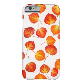 Colorful Autumn Aspen Leaves Barely There iPhone 6 Case