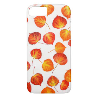 Colorful Autumn Aspen Leaves iPhone 8/7 Case