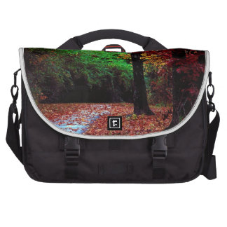 Colorful Autumn Day Laptop Bags
