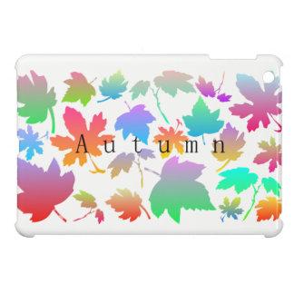 Colorful autumn leaves cover for the iPad mini