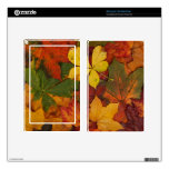 Colorful Autumn Leaves Kindle Fire Skins