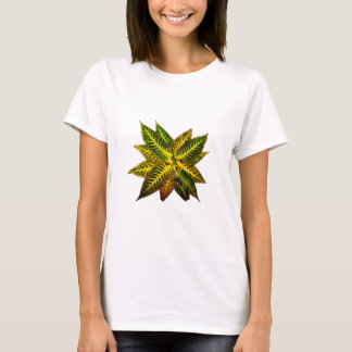 Colorful Autumn Leaves Pinwheel T-Shirt