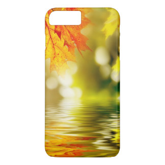 Colorful autumn leaves reflecting in the water 2 iPhone 8 plus/7 plus case