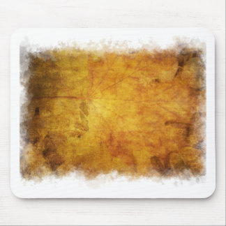 Colorful autumn leaves texture mouse pad