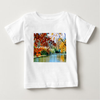 Colorful Autumn on the Water Baby T-Shirt