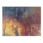 Colorful Autumn Postcard