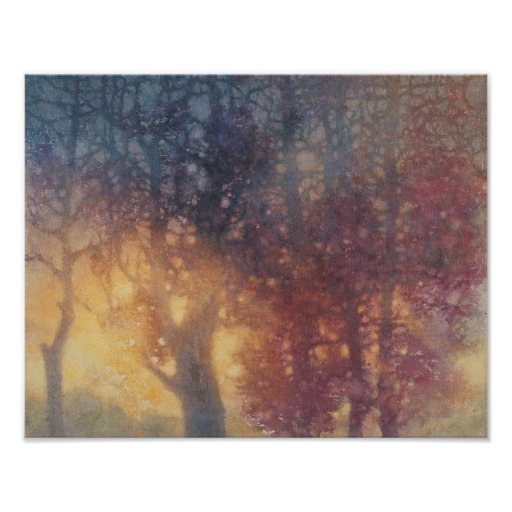Colorful Autumn Poster