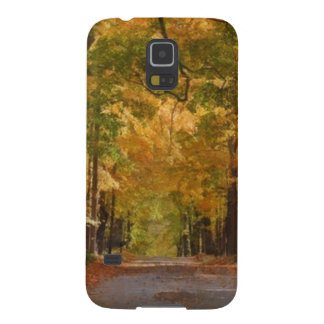 Colorful Autumn Stroll thought the Trees Galaxy S5 Case