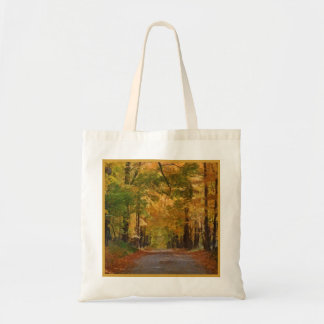 Colorful Autumn Stroll Trees Party Favor Gift Bags