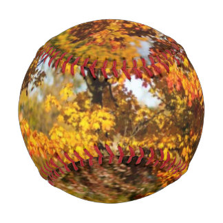 Colorful Autumn Tree Baseball