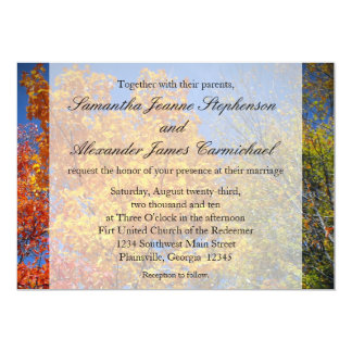 Colorful Autumn Trees Announcements