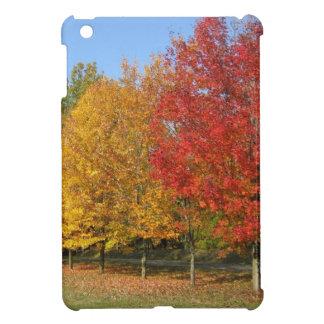 Colorful Autumn Trees iPad Mini Case