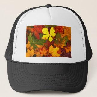 Colorful Autumn Trucker Hat