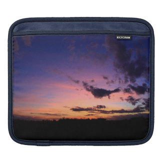 Colorful Awesome Sunset Colors Nature Photo Art Sleeve For iPads