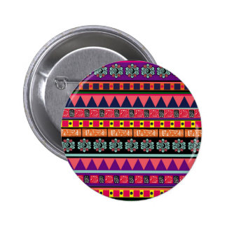 Colorful Aztec Pattern Pins