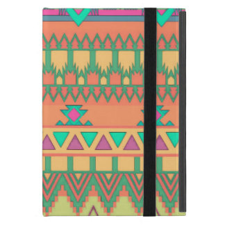 Colorful Aztec Pattern iPad Mini Cover