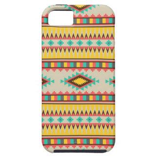 Colorful Aztec Tribal Native American Diamonds iPhone SE/5/5s Case