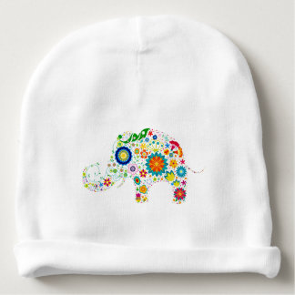 COLORFUL BABY ELEPHANT COTTON BABY BEANIE