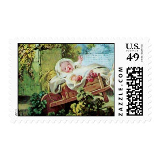 COLORFUL BABY SHOWER POSTAGE