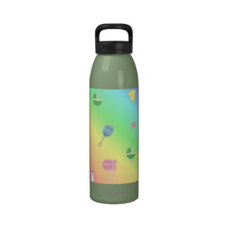 Colorful Baby Toys Drinking Bottle