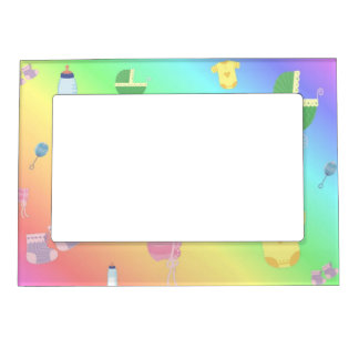 Colorful Baby Toys Magnetic Picture Frames