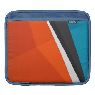 Colorful background design iPad sleeves