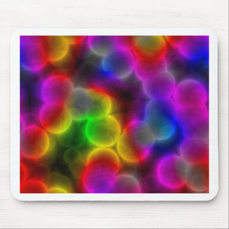 Colorful bacteria mouse pad