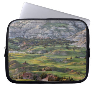 Colorful badlands from Buck Hill overlook in Laptop Sleeve