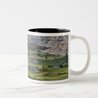 Colorful badlands from Buck Hill overlook in Two-Tone Coffee Mug