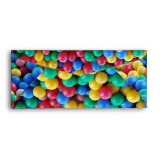 Colorful Ball Pit Balls Kids Play Envelope