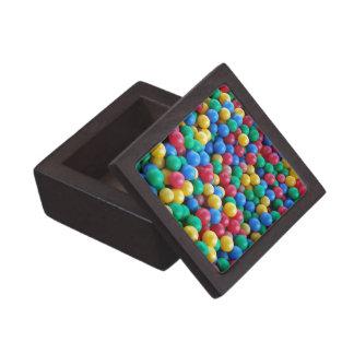 Colorful Ball Pit Balls Kids Play Keepsake Box