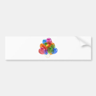 Colorful Ballons Bumper Sticker