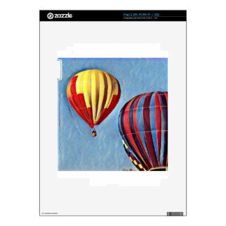 Colorful Ballons Skin For iPad 2