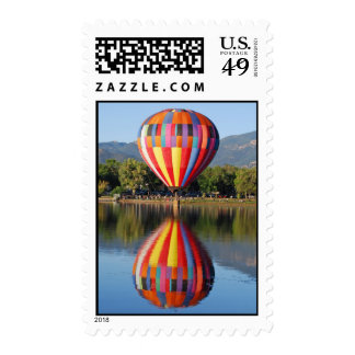 Colorful Balloon Stamp