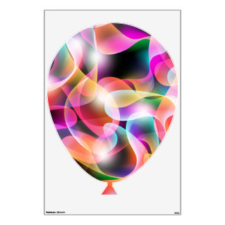 colorful balloon swirl sticker