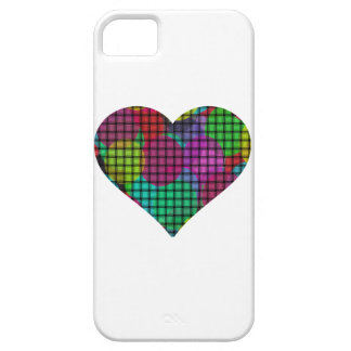 colorful balloons heart iPhone 5/5S case